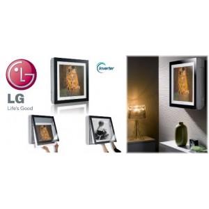 Climatizzatore Conizionatore Lg Dual Split 12+12 Inverter Art Cool Gallery 12000+12000 Btu Con Mu2m17 Ul3
