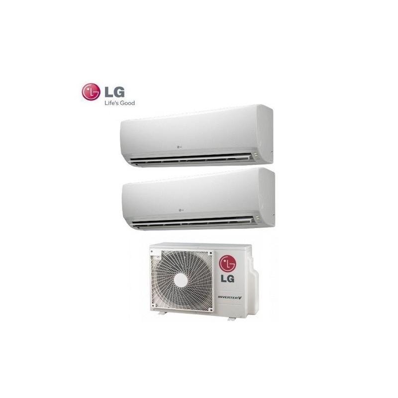 Climatizzatore Lg Dual Split Inverter Standard 9000+9000 Con Mu2m15 Ul3