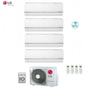 Climatizzatore Condizionatore Lg Quadri Split 9+9+9+12 Inverter Libero 9000+9000+9000+12000 Con U.e. Mu5m30 U44