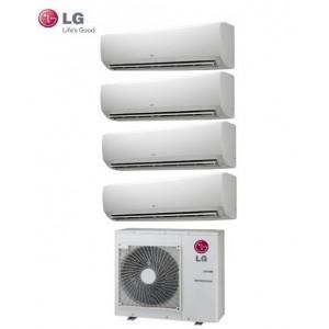 Climatizzatore Lg Quadri Split Inverter Standard 9+9+9+9 Btu Con Mu4m25 U43