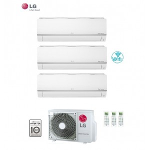 Climatizzatore Condizionatore Lg Trial Split 12+12+12 Inverter Libero Plus 12000+12000+12000 Con U.e. Mu4m25 U44