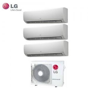 Climatizzatore Lg Trial Split Inverter Standard 9+9+12 Btu  Con Mu3m21 Ue3