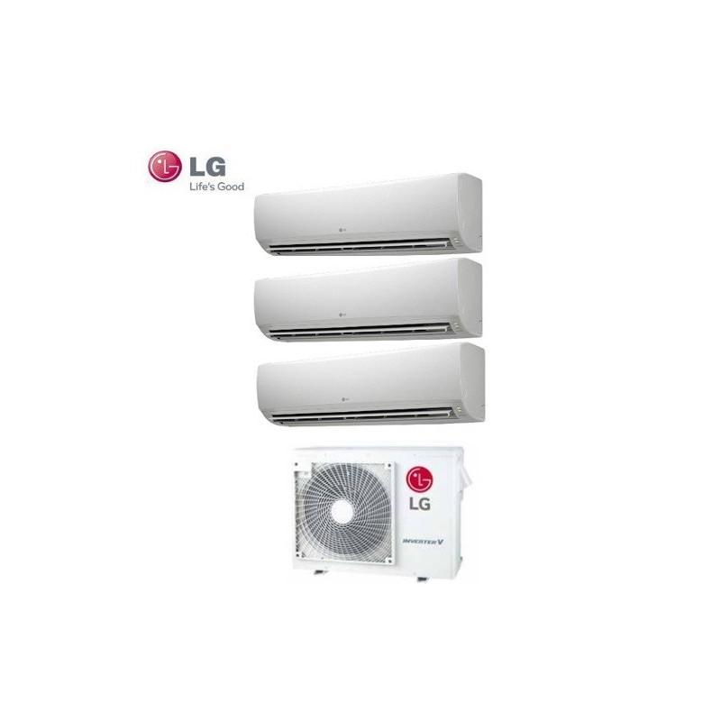 Climatizzatore Lg Trial Split Inverter Standard 9+9+9 Btu Con  Mu3m19 Ue3
