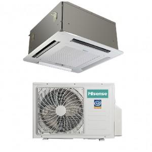 Climatizzatore Condizionatore Hisense A Cassetta Inverter Modello Auc50r4zaa1 Da 18000 Btu Incluso Pannello