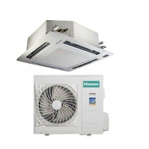 Climatizzatore Condizionatore Hisense A Cassetta Inverter Modello Auc-70r4aea1 Da 24000 Btu Incluso Pannello