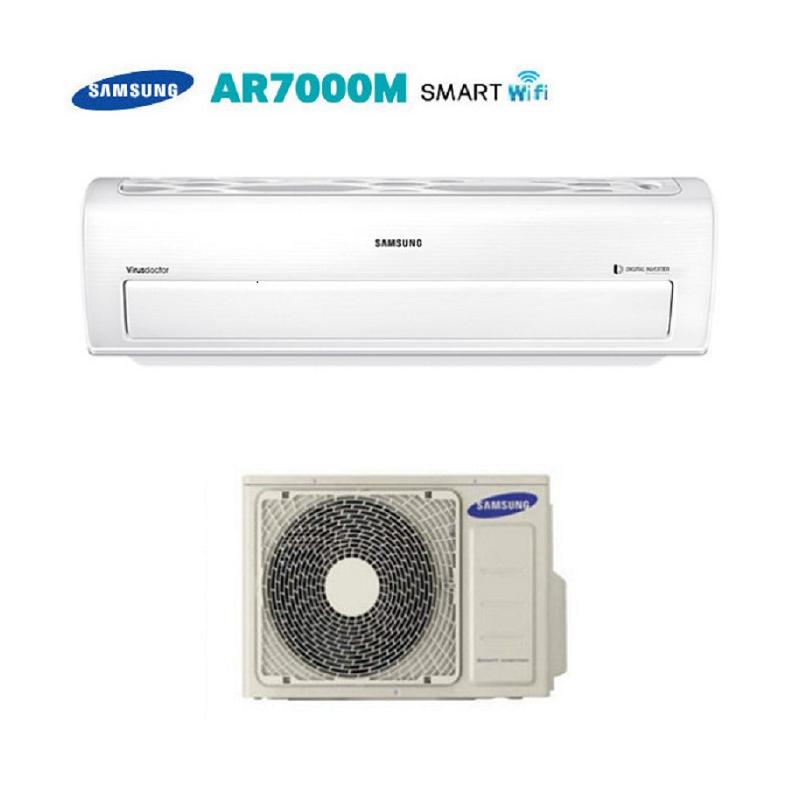 Climatizzatore Condizionatore Samsung Inverter Serie Ar7000m Smart Wifi A++ Ar09kspdbwkneu 9000 Btu -
