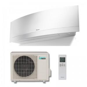 Climatizzatore Condizionatore Daikin Inverter Emura White 18000 Btu Wi-fi  Ftxg50lw/gl-w