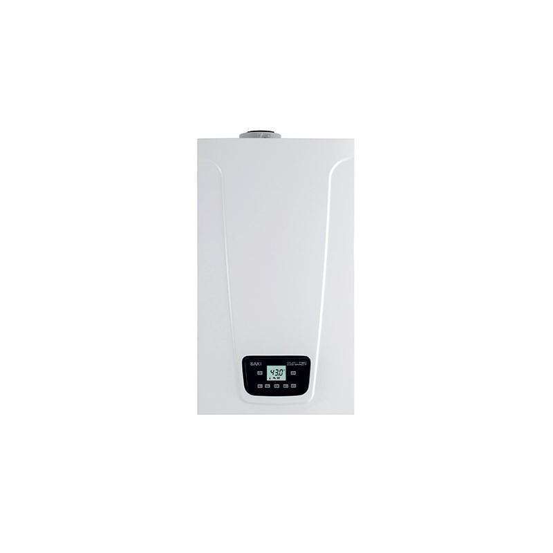 Caldaia A Condensazione Baxi Duo-tec Compact E Da 24 Kw A Gas Metano/gpl Low Nox Erp Completa Di Kit Scarico Fumi New Model