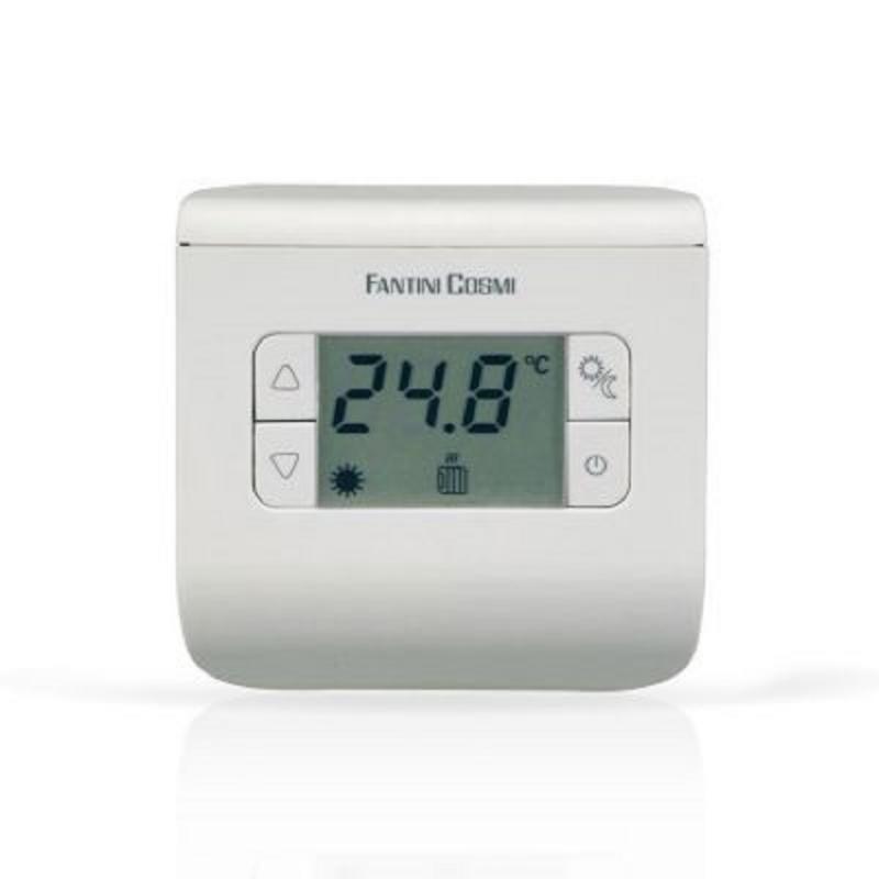 Termostato Ambiente Elettronico Fantini Cosmi Mod. Ch110 Ch111 Ch112 3 Colori A Batterie