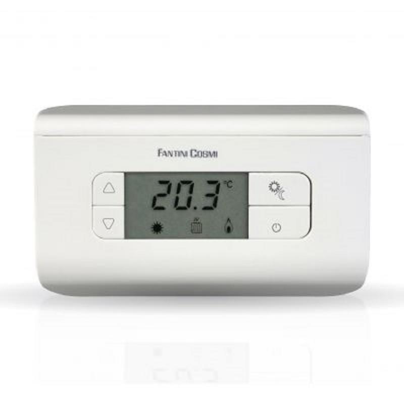 Termostato Ambiente Elettronico Fantini Cosmi Mod. Ch115 Ch116 Ch117 3 Colori A Batterie