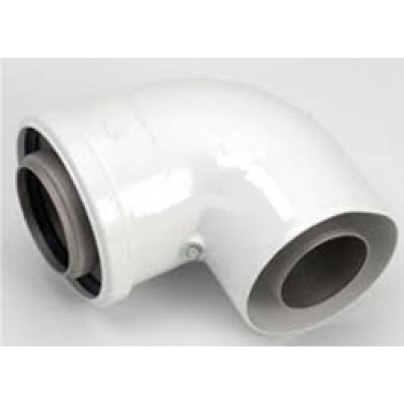 Curva 90° Compatibile Per Caldaie E Scaldabagni