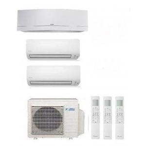 Climatizzatore Daikin Trial  3mxs68g + 2 X Ftxs25k + Ftxg35lw-w Wi-fi 9+9+12 Btu