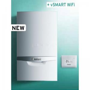 Caldaia Vaillant Ecotec Plus A Condensazione Vmw 256/5-5 Erp + Vsmart Wifi Completa Di Kit Fumi