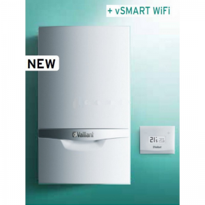 Caldaia Vaillant Ecotec Plus A Condensazione Vmw 306/5-5 Erp + Vsmart Wifi Completa Di Kit Fumi