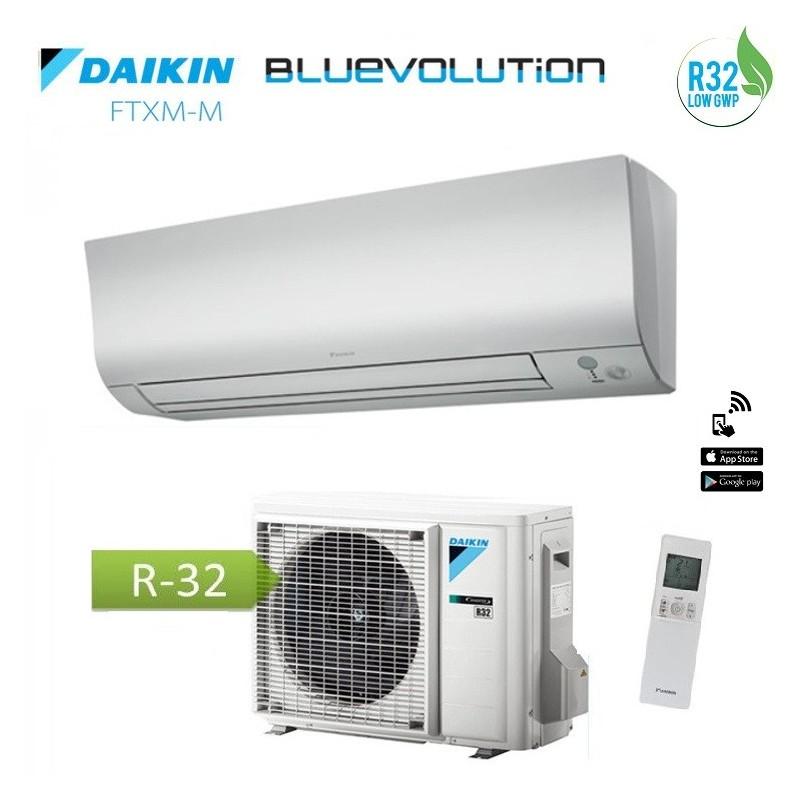 Climatizzatore Condizionatore Daikin Inverter Perfera Serie Ftxm25m Bluevolution R-32 9000 Btu (wi-fi Ready)