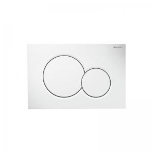 Placca Di Comando Geberit Con Doppio Pulsante Modello: Sigma01 115.770.11.5 Bianco
