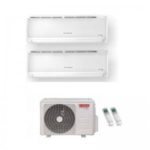Climatizzatore Condizionatore Ariston Dual 9+9 Inverter Alys Plus Da 9000+9000 Btu Con U.e. 55 Xd0b-o
