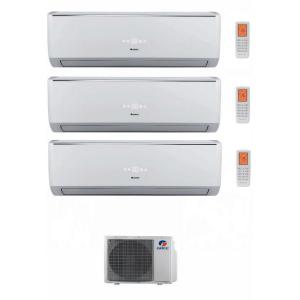 Climatizzatore Condizionatore Gree Trial Split Inverter Serie Lomo 9+12+12 Con Gwhd21nk3ko