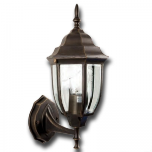 Lanterna Da Esterno In Alluminio Con Braccio Cm 16x19x38h Mod. Bombay