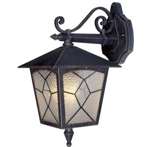 Lanterna Da Esterno In Acciaio Con Braccio Mod. Classic Colore Bronzo Antico