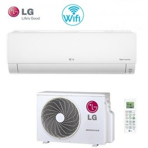 Climatizzatore Condizionatore Smart Inverter Lg Serie Deluxe Dm09rp Wi-fi Classe A++ 9000 Btu