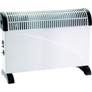 Stufa Elettrica Teporus Potenza 2000 Watt + Turbo Con Termostato Mod. Dl 01