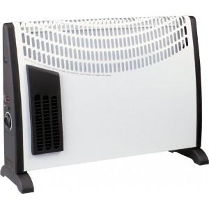Stufa Elettrica Teporus Potenza 2000 Watt + Turbo Con Termostato Mod. Dl 03