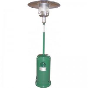 Stufa A Gas Aerea Modello Patio A Raggi Infrarossi Di Colore Verde Cod:18137