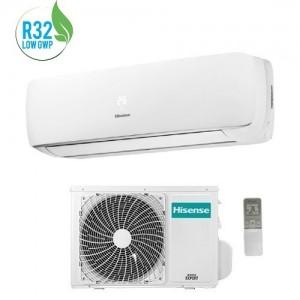 Climatizzatore Condizionatore Hisense Serie Mini Apple Pie Tg25ve00 Con Potenza Di 9000 Btu A++ Gas R32