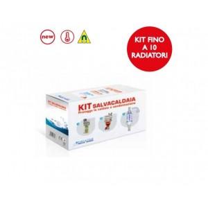 Kit Euroacque Salvacaldaia Completo Di Defangatore Filtro Magnetico + Dosatore Polifosfati + Neutralizzatore Condensa