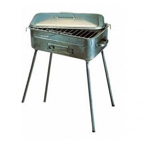 Barbecue A Legna Fornacella In Lamiera Rettangolare