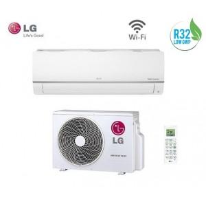 Climatizzatore Condizionatore Smart Inverter Lg Serie Libero Plus Pc09sq In A++ 9000 Btu-wi Fi R32- Model