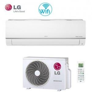 Climatizzatore Condizionatore Smart Inverter Lg Serie Libero Plus Pc12sq In A++ 12000 Btu-wi Fi R32- Model