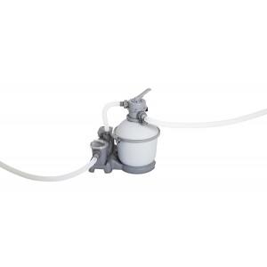 Pompa Bestway Filtro A Sabbia Flowclear Filtraggio Per Pulizia Acqua Piscina 7571 Lt/h Mod. 58366 Codice 30420