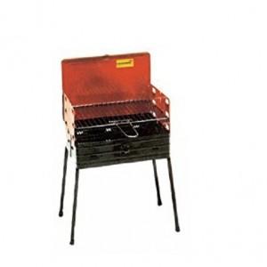 Barbecue Richiudibile A Valigetta In Acciaio Verniciato Mod 844 Cod. 37721