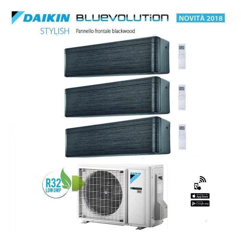 DAIKIN BLUEVOLUTION CONDIZIONATORE TRIAL 9000+9000+9000 BTU GAS R32 WI-FI A+++