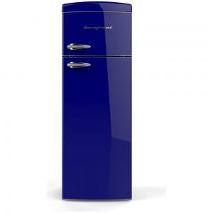 Frigorifero A Doppia Porta Ventilato Bompani 315 Lt Modello Bodp268/b In Classe A+ Colore: Blu Navy