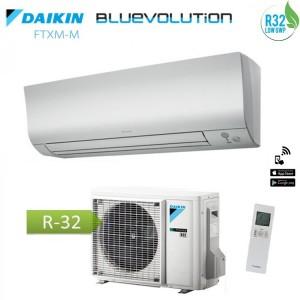 Climatizzatore Condizionatore Daikin Inverter Perfera Serie Ftxm20n Bluevolution R-32 7000 Btu Wi-fi Incluso
