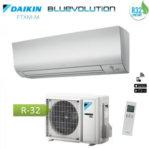 Climatizzatore Condizionatore Daikin Inverter Perfera Serie Ftxm25n Bluevolution R-32 9000 Btu Wi-fi Incluso -