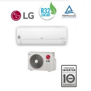 Climatizzatore Condizionatore Inverter Lg Serie Standard-win Dualcool S09er.nsw Da 9000 Btu Con Gas R32