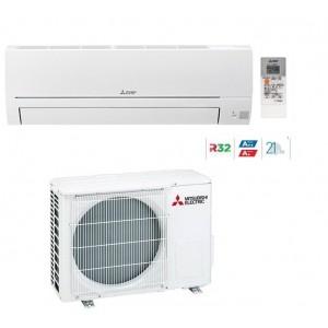 Climatizzatore Condizionatore Mitsubishi Electric Inverter Linea Smart Msz-hr42vf 15000 Btu Con Gas R32 In A++ E Wi Fi Ready New