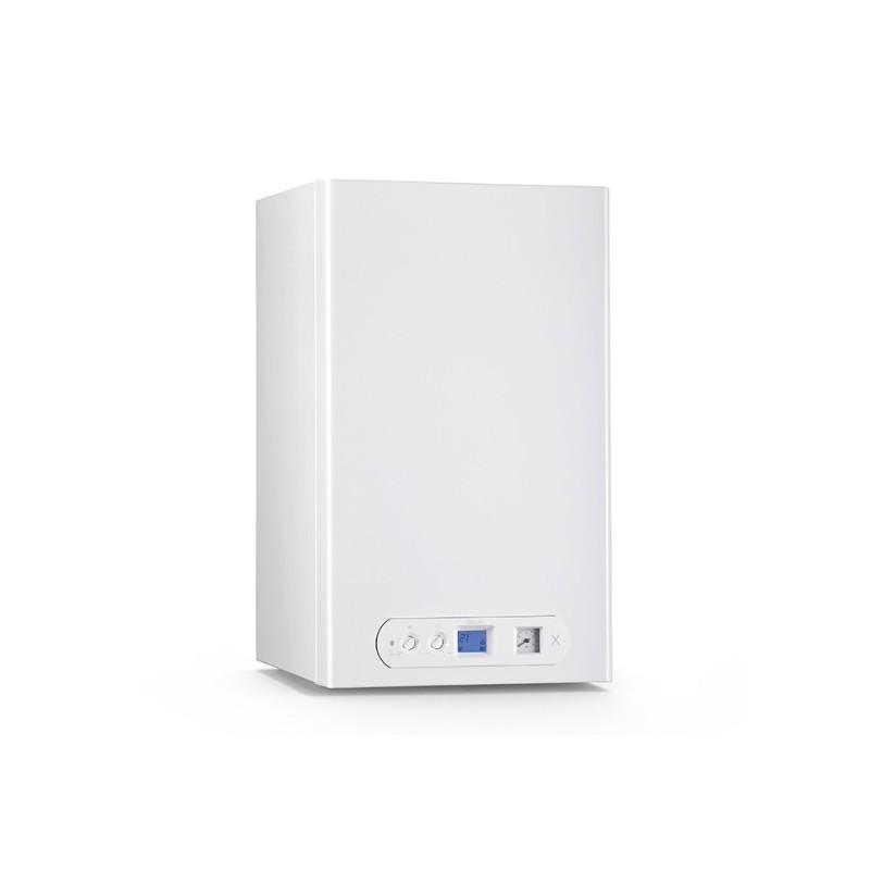 Caldaia A Condensazione Unical X C 24 Low Nox A Basse Emissioni A Gas Gpl Completa Di Kit Fumi
