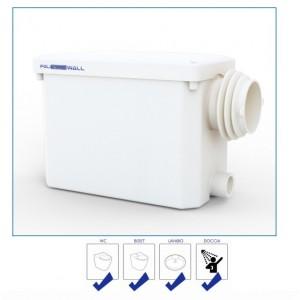 Trituratore Da Incasso Techno Solution Modello Politech Wall Per Bagno Completo