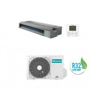 Climatizzatore Condizionatore Hisense Canalizzato Inverter Mod Adt26ux4rbl4 Con Potenza Da 9000 Btu In Classe A++/a+ E Gas R32