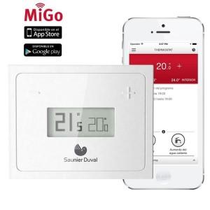 Termostato Centralina Modulante Wifi Hermann Saunier Duval Modello Migo Per Controllo Wifi