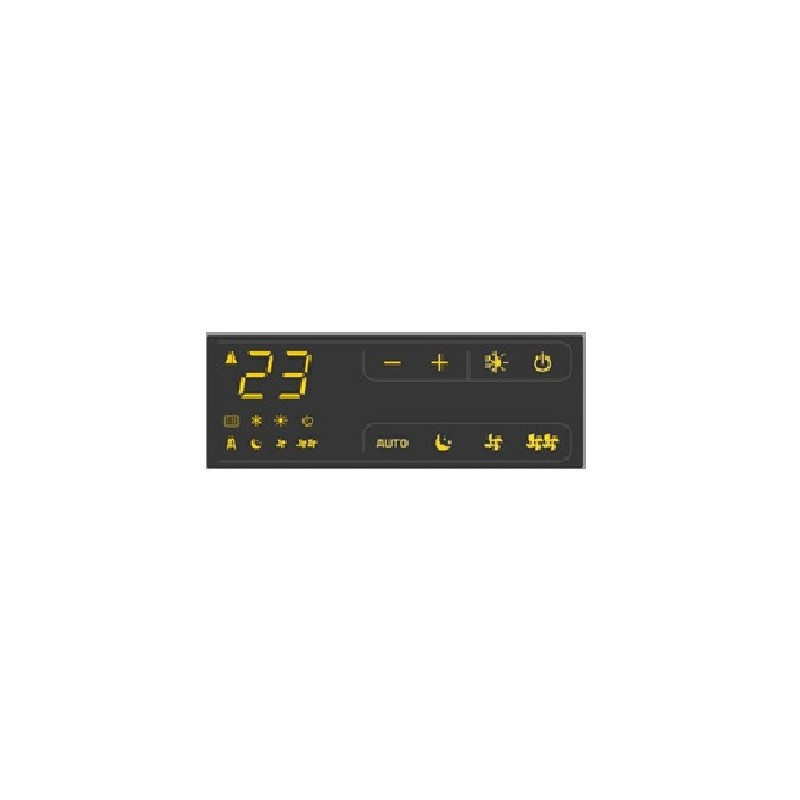 Comando A Bordo Macchina Touch Lcd Modello Cbd 25 Per Ventilconvettori Riello Codice 20116409