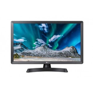 """Tv Led Monitor Lg  28tl510v-pz Da 28"""" Tv Led Hd Ready Dvb/t2/s2 1366 X 768 Pixel Hd Colore: Nero"""
