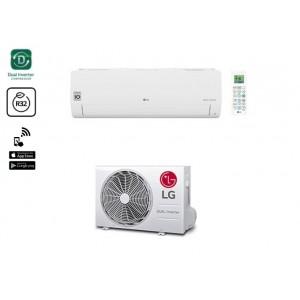 Climatizzatore Condizionatore Inverter Lg Serie Libero Smart R32 Wifi S09et Nsj Da 9000 Btu In Classe A++/a+