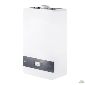 Caldaia Riello Residence Condens 35 kis a condensazione completa di Kit Fumi Metano Low NOx classe A