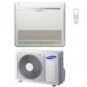 Climatizzatore condizionatore Samsung monosplit inverter serie console pavimento con telecomando AC026RNJ-DKG 9000 btu R32